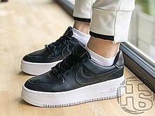 Жіночі кросівки Nike Air Force 1 Sage Low Black White AR5339-002, фото 3
