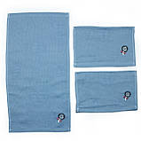 Кухонное полотенце Льняное, двойной лен 25х50см, фото 2