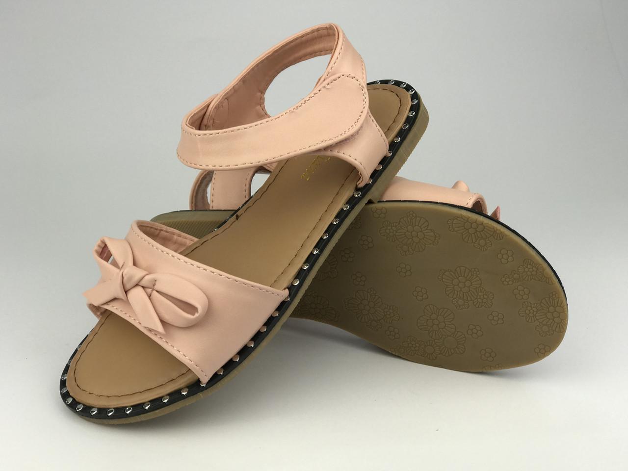 Босоніжки для дівчинки рожеві Meridiana р.30-34