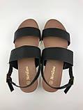 Босоніжки жіночі стильні чорні Meridiana, фото 2