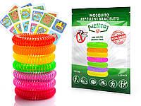 Детские браслеты от комаров 15 шт. | JENTO - Экологическая защита для детей и взрослых