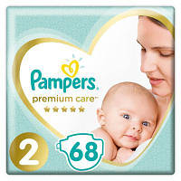 Подгузник Pampers Premium Care Mini Размер 2 (4-8 кг), 68 шт (8001841104874)