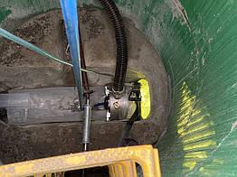 Санація труб методом гнучкого полімерного рукава від 150 до 1500 мм