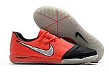 Сороконожки Nike Phantom VNM Pro TF red/black, фото 2