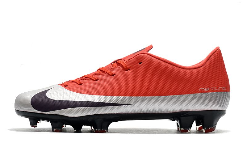 Бутсы Nike Mercurial Vapor XII FG red/grey