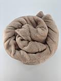 Плед покрывало персиковое 180x200см микрофибра  SOFT COMFORT, фото 3