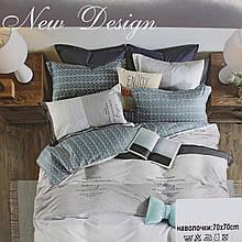 Комплект постельного белья БИРЮЗА серый