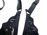 Бюстгалтер-топ жіночий безшовний з мереживом, чашка В/С, жіноча нижня білизна, фото 3
