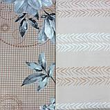 Постільна білизна КВІТИ темно-кремова, сатин, фото 2