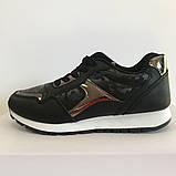 Кросівки для дівчаток чорні LaVento, фото 2