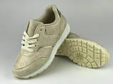 Кросівки для дівчаток бежеві LaVento, фото 4
