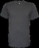 Футболки мужские однотонные серые : 100 % хлопок : 80 р и др., на выбор, разные расцветки, фото 2