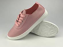Кросівки жіночі літні стильні рожеві Artin