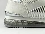Кросівки жіночі сітка літні білі LaVento, фото 3
