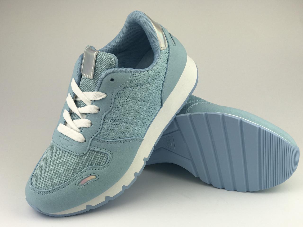 Голубые кроссовки легкие летние LaVento, текстиль