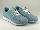Голубые кроссовки легкие летние LaVento, текстиль, фото 2