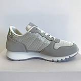 Кросівки жіночі сірі LaVento, фото 2