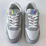 Кросівки жіночі сірі LaVento, фото 4