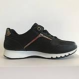 Кросівки жіночі чорні LaVento, фото 2