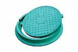 Люк полимерпесчаный зеленый  4.5 т