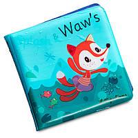 Книга для ванной Lilliputiens лисичка Алиса 83005, КОД: 1668592