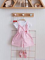 """Набір літнього одягу для дівчинки """"Simply Emily"""" чотири предмета, Рожевий"""