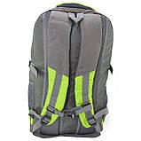 Рюкзак стильный салатовый Ronglida, текстиль, 50 л, фото 2