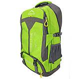 Рюкзак стильный салатовый Ronglida, текстиль, 50 л, фото 3