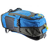 Рюкзак стильный салатовый Ronglida, текстиль, 50 л, фото 5