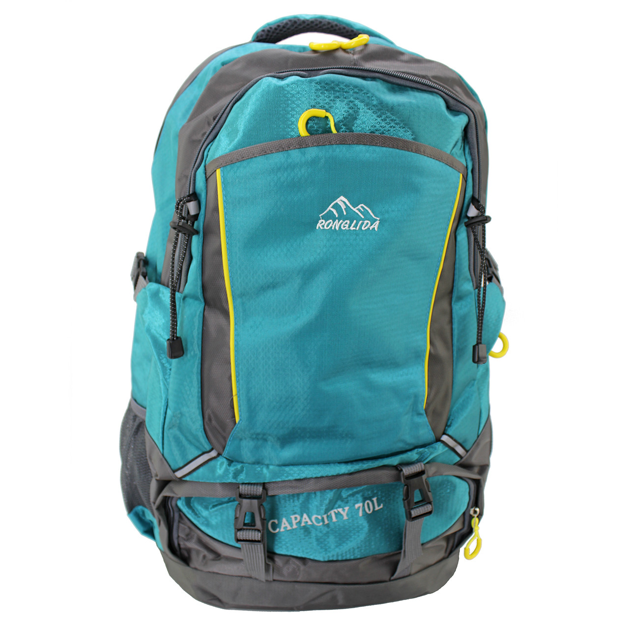 Рюкзак для путешествий, вместительный Ronglida, текстиль, 65 л