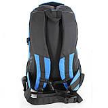 Рюкзак для туризма Hiking and camping, текстиль, 50 л, фото 4