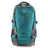 Туристичний рюкзак для походів Rong lida, текстиль, 65 л, фото 4