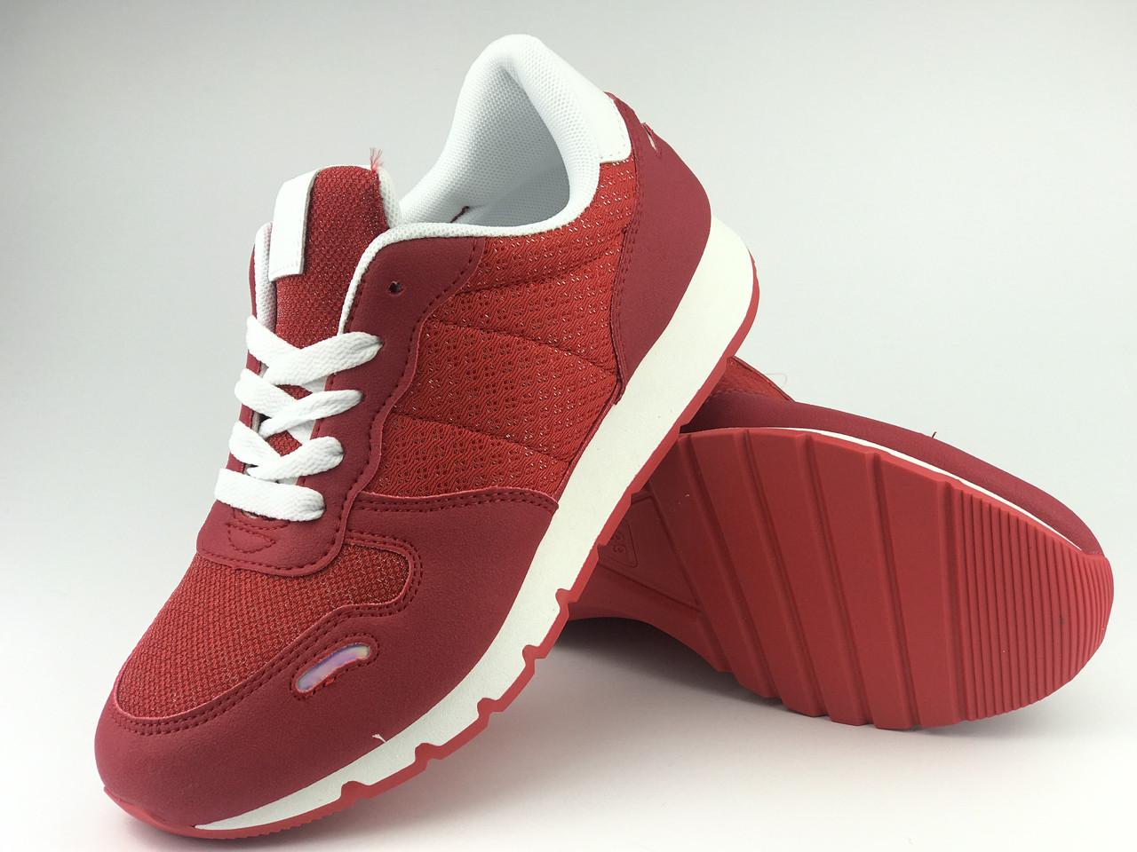 Кроссовки женские красные LaVento