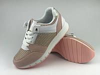 Летние модные кроссовки 2020 женские розовые LaVento, р.36-40