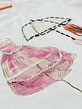 Футболка Стильна жіноча біла, Преміум якість Lianara, фото 3