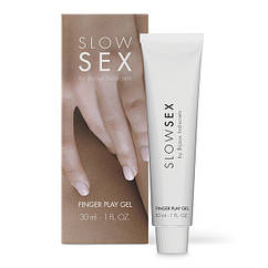 Гель для петтинга и мастурбации SLOW SEX by Bijoux Indiscrets FINGER PLAY 30 мл B0323, КОД: 1768895