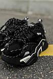 🔥 Кроссовки женские спортивные повседневные Calvin Klein Strike Black 205w39nyc (кельвин кляйн страйк черные), фото 3