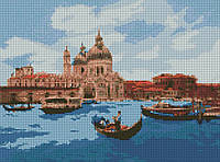 """Алмазная мозаика """"Полдень в Венеции"""" 30*40см AM6134"""