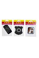 Набор аппликаций KWM 3 штуки 14х9 см Черно-белый K10-550278, КОД: 1791131