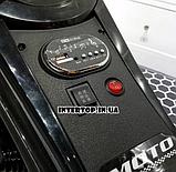 Детский трехколесный электромобиль мотоцикл BMW Hurricane на резиновых колесах M 3926A-2 черный, фото 6