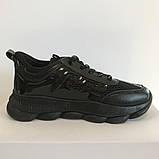 Кросівки жіночі сітка чорні Artin, фото 2