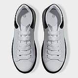 Кросівки жіночі білі з прозорою підошвою Artin, фото 3