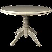 Стол обеденный Клевер Мебель 1000х760х1000 мм Ванильный hubAfXJ95859, КОД: 1786938