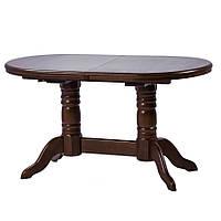 Стол обеденный Клевер Мебель 1400х760х900 мм Темный орех hubFayq13257, КОД: 1787063