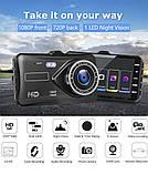 Автомобільний Відеореєстратор DVR S-20 з камерою заднього виду, 4дюйма, парктронік, металевий корпус, фото 7