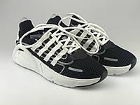 Кросівки для міста жіночі сітка чорні на шнурках Artin р.37-41
