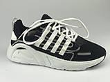 Кросівки для міста жіночі сітка чорні на шнурках Artin р.37-41, фото 2