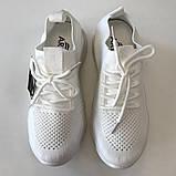 Трендові кросівки жіночі сітка весна-літо білі Artin, р.37-41, фото 4