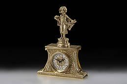 Часы настольные VIRTUS winter 31 x 21.5 см 3220 гр Золотистый 1867, КОД: 1181929