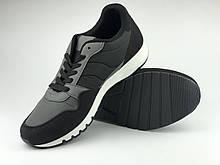 Кросівки для чоловічі чорні LaVento, недорогі чоловічі кросівки